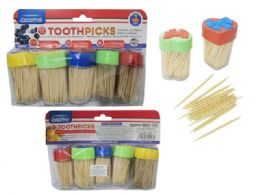 96 of 5pc Toothpicks With Dispensers
