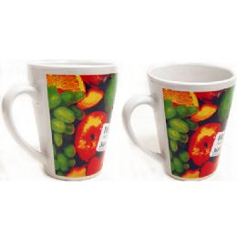 72 of Mug 12oz W/printing Fruit