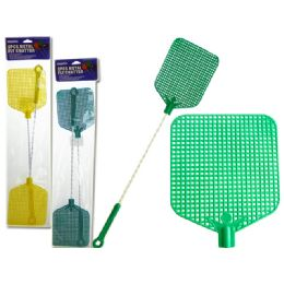 96 of 2 Piece Metal Fly Swatters