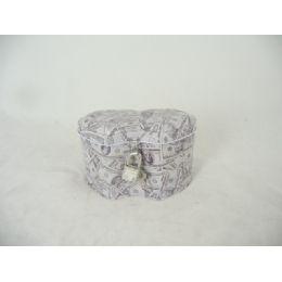 96 of Tin Jewelry Box Us Double Hea