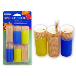 96 of 6 Pack Toothpicks