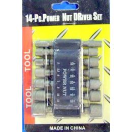 48 of 14pc Power Nut Driver Set