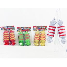 144 of Xms Candy 2pc/set 4asst Clr