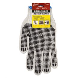 72 of Double Sided Dotted Working Glove