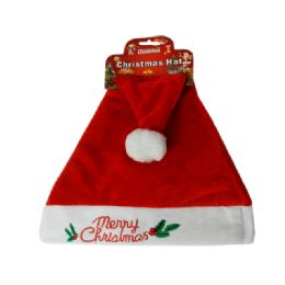 144 of Santa Christmas Hat With Stitching
