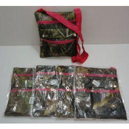 72 of Large CrosS-Body Hand Bag [hardwoods Camo/hot Pink Trim]
