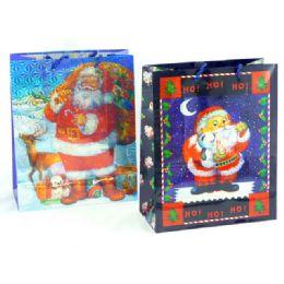 144 of Christmas Hologram Gift Bag