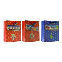 144 of Christmas Medium Sized Gift Bag