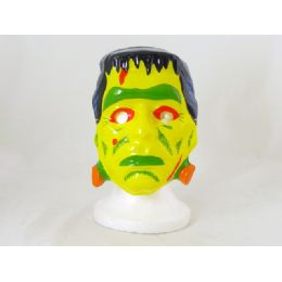 144 of Halloween Mask Pvc 12 Assorted