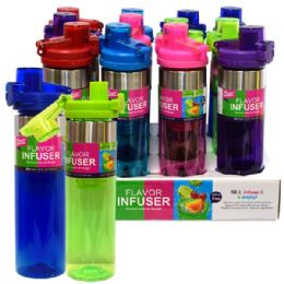 24 of Infuser Bottle 26oz Flip Top