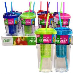 12 of Infuser Tumbler 24oz Single Wall