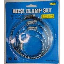 70 of 4pc Hose Clamp Set