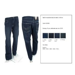 12 of Mens Fashion Jeans 100% Cotton