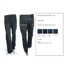 12 of Mens Fashion Jean 100% Cotton
