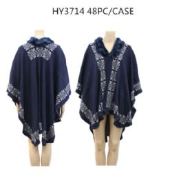 24 of Ladies Fashion Winter Poncho