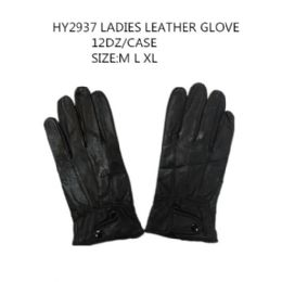 72 of Ladies Leather Winter Gloves
