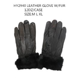 48 of Leather Winter Gloves With Fur