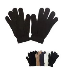 60 of Mens Magic Gloves Assorted Colors