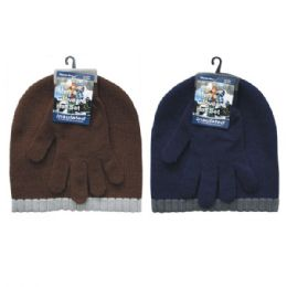 36 of Winter Set Hat & Glove Men