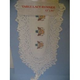72 of Lace Table Runner