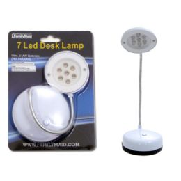 72 of Desk Lamp 7 Head Led White Clr bc