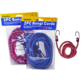 96 of Bungi Cords 2pc Asst Color Size: 48""
