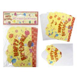 144 of Invitation Card 8pc+envelopes