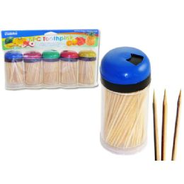 72 of 5 Piece Toothpicks In Dispensers