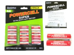 24 of 21pc Aa Batteries