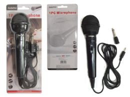 72 of Microphone 1pc Black