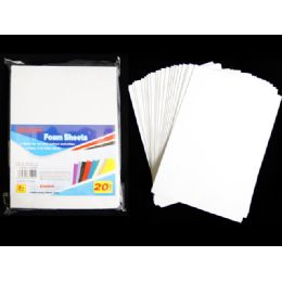 72 of 20 Piece Craft Foam Sheets