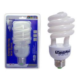 72 of 30 Watt Energy Saving Spiral Lightbulb