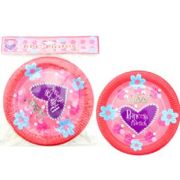 96 of 8 Piece Princess Party Plate