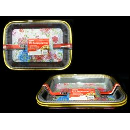 72 of Tray 2pc Rectangle