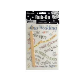 144 of Wedding Sayings RuB-On Transfers