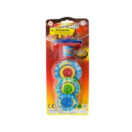 36 of 3-Layer Bouncing Top Spinner Toy