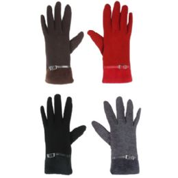 36 of Touch Screen Gloves Ladies Assorted Color