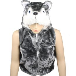 12 of Kids Cute Animal Vest With Animal Hat