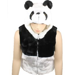 12 of Kids Cute Panda Vest With Panda Hat