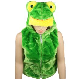 12 of Kids Cute Frog Animal Vest With Frog Hat