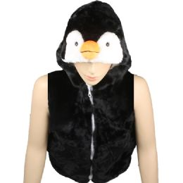 12 of Kids Cute Penguin Animal Vest With Penguin Hat