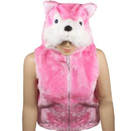 12 of Kids Cute Pink Animal Fox Jacket With Animal Hat