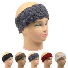 72 of Ladies Winter Headband Assorted Colors