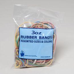 72 of Rubber Bands 3oz Bag