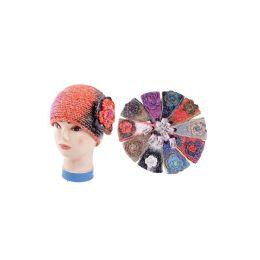 36 of Tie Die Headband With Glitter & SequiN-Wide Size