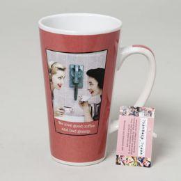 48 of Mug Latte 16 Oz Ceramic Postmark Press