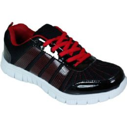 12 of Mens Running Sneakers In Black And Red