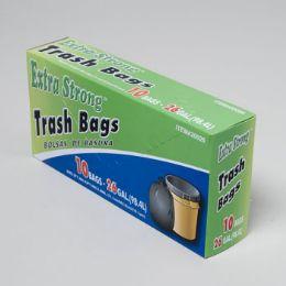120 of Trash Bags 10 Ct - 26 Gal Black