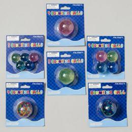 108 of Bouncing Ball 6ast Styles Rainbow/glitter