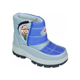 15 of Children Printed Winter Boots Blue